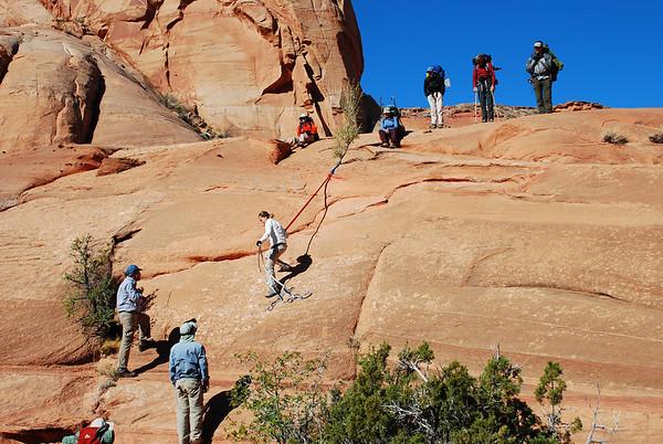 2010-04 - Rainbow Plateau, Day 4 - Middle Anasazi Canyon