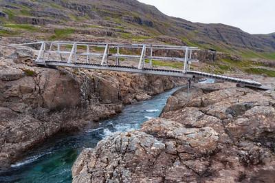 Seinni brúin á Eyvindarfjarðará