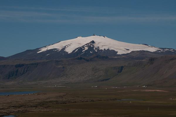 Snæfellsjökull þveraður 19.07.10
