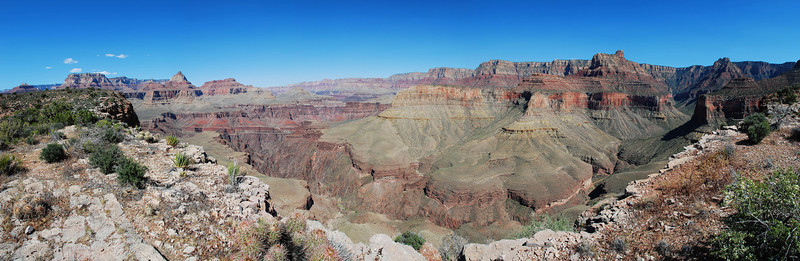 2011-05 Grand Canyon, Day 4 - Cottonwood Creek to Horseshoe Mesa