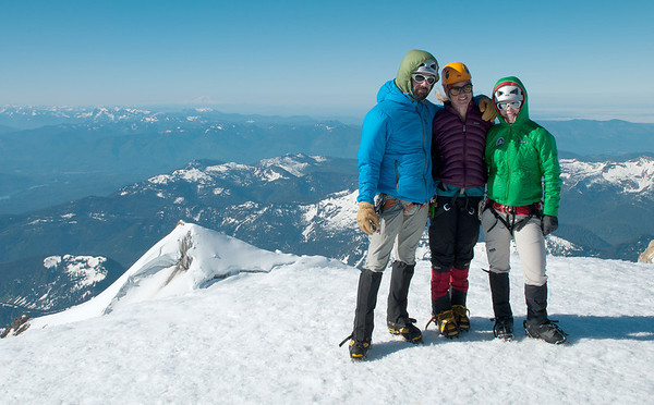 2011-07 AMTL1, Day 3 - Mt. Baker Summit