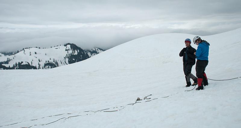 2011-07 AMTL1, Day 4 - Sandy Camp, Easton Glacier