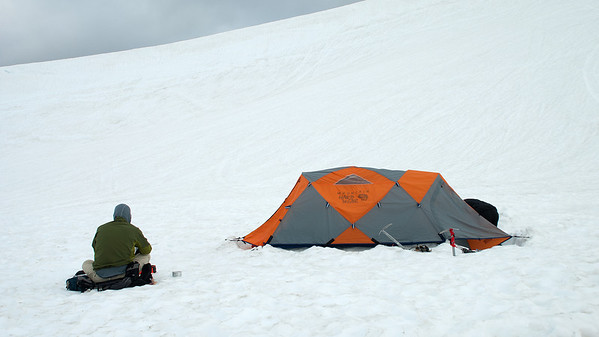 2011-07 AMTL1, Day 4 - Sandy Camp, Easton Glacier  Bill