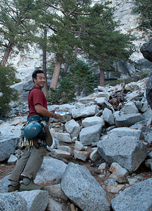 2011-09 Tahquitz Rock, The Trough (5.4)