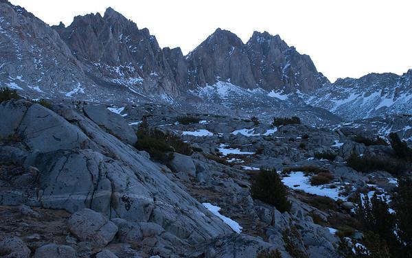 2011-10 Bishop Pass & Mt. Agassiz, Day 2
