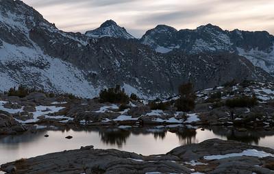 2011-10 Dusy Basin, Bishop Pass, Mt. Agassiz Favorites