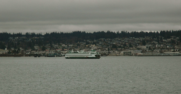 The ferry ride to the Olympic Peninsula