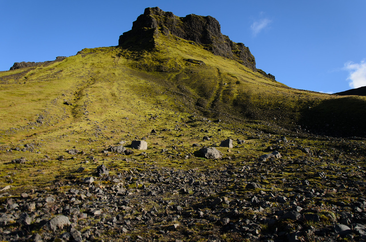 Morinsheiði from below