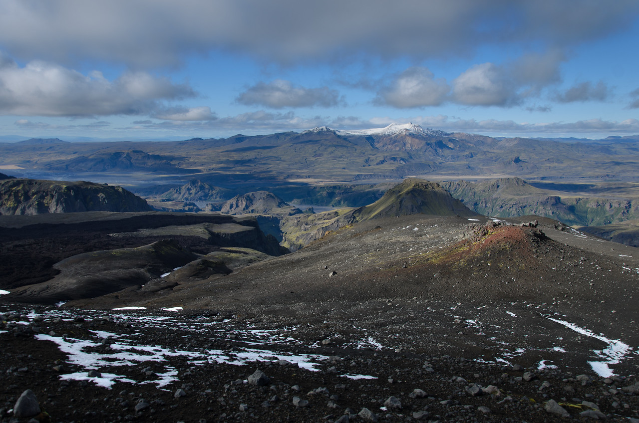 View towards Tindfjöll