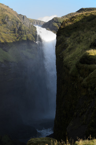 This was one of the taller waterfalls - but impossible to photograph without a total lack of fear of heights!