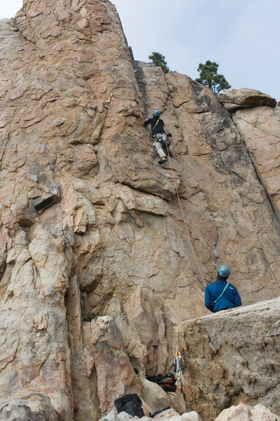 2012-11 Holcomb Valley  Leading Bye Crackie (5.7)