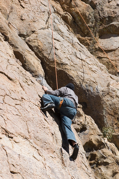 2012-11 Holcomb Valley  Anthony on Gold Standard (5.6)
