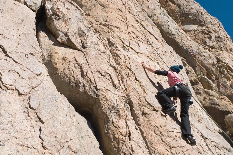 2012-11 Holcomb Valley  Kori on Hidden Gold (5.7)