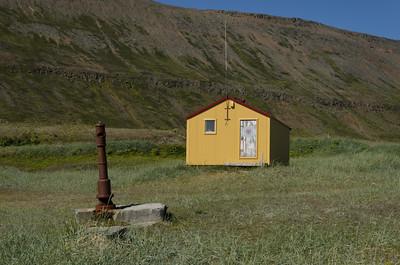 Neyðarskýlið við Látra í Aðalvík