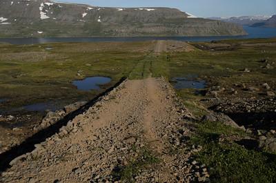 Bílvegurinn á Hesteyrardal