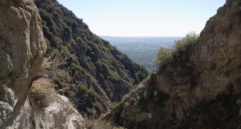 2012-11 Bailey Canyon  The view down canyon