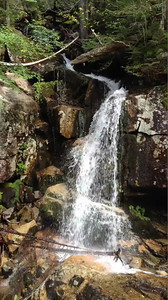 Movie of one of the waterfalls along the Falling Waters trail.
