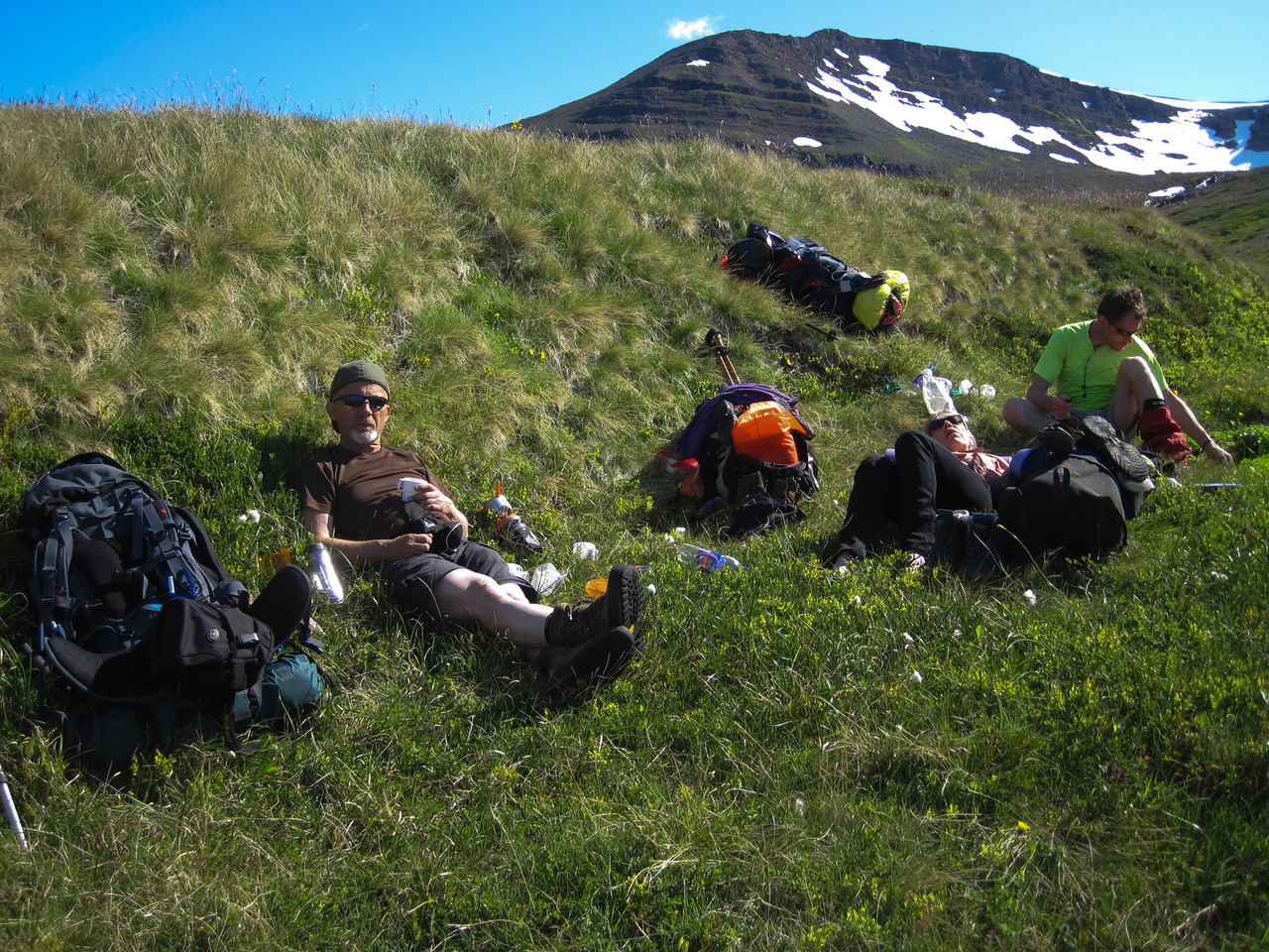 Matarhlé á Kjósarhlíð í Hrafnfirði