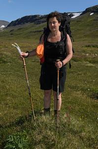 Rebekka með álftarfjöður