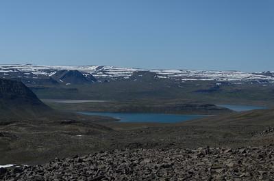 Kjósarnes milli Hrafnfjarðar og Leirufjarðar