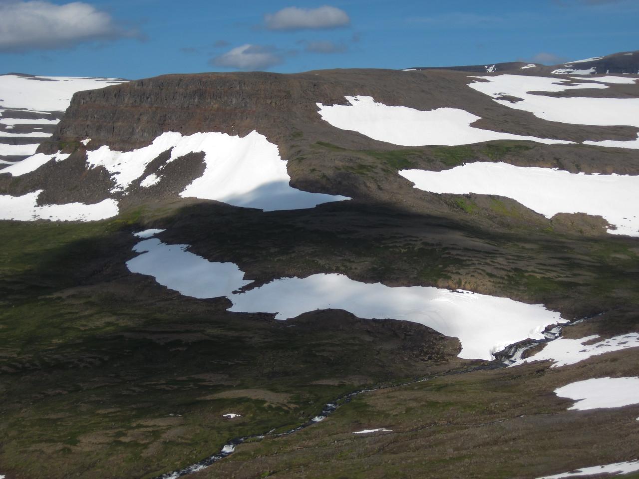 Fjallið Tafla við Karlstaðadal