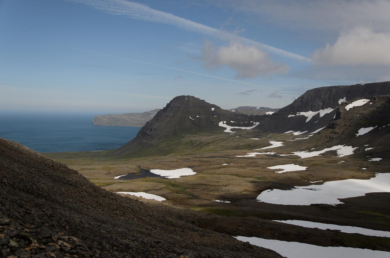 Álfsfell og Hælavíkurbjarg