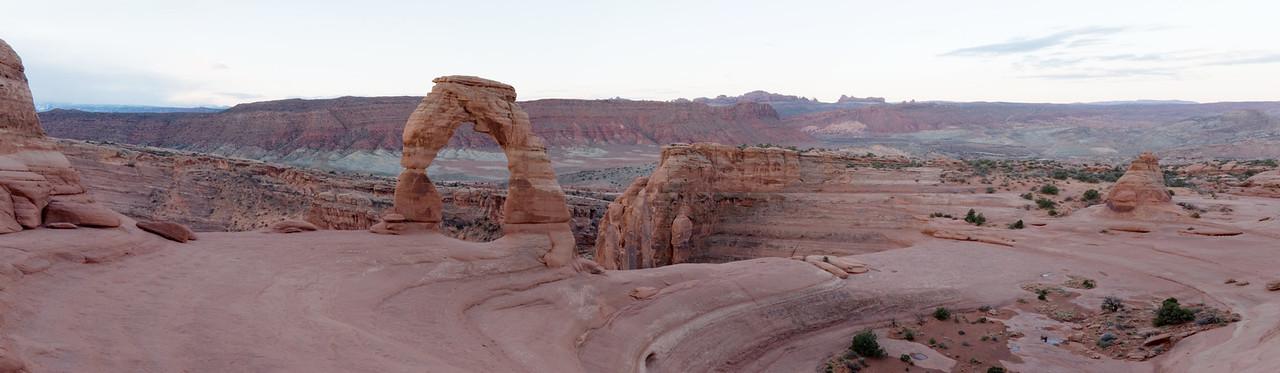 2013-04 Arches National Park, Delicate Arch Sunrise