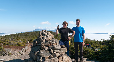 Summit of South Kinsman, White Mountain National Forest, New Hampshire.