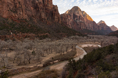 Small river, large canyon