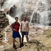 With Jon Kull at Arethusa Falls, near Crawford Notch, NH.