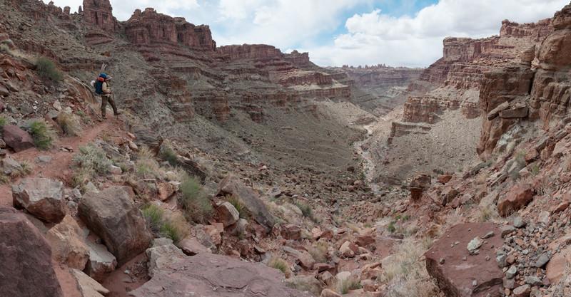 2015-04 - Day 6, Canyonlands National Park - Green River, Colorado River, Lower Red Lake Canyon, Butler Wash, Cyclone Canyon
