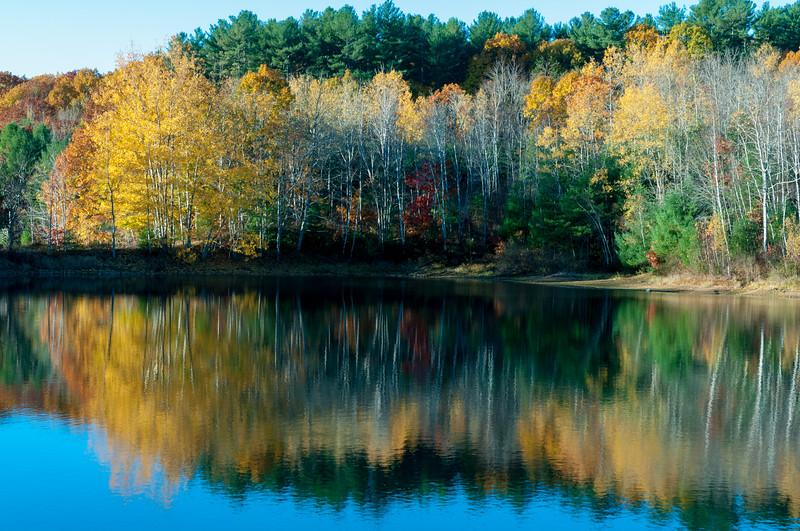 Autumn scene in Scarborough, ME.