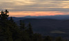 Sunset from the ledges along the trail to Mount Cube.