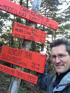 These signs had been at (or below) snow level during my prior visit on April 5.