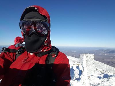 Selfie on Mt. Adams