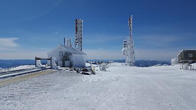 Finally, Mt. Washington summit