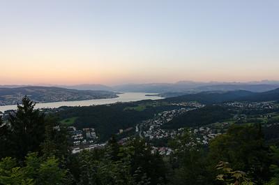 View from Felsenegg