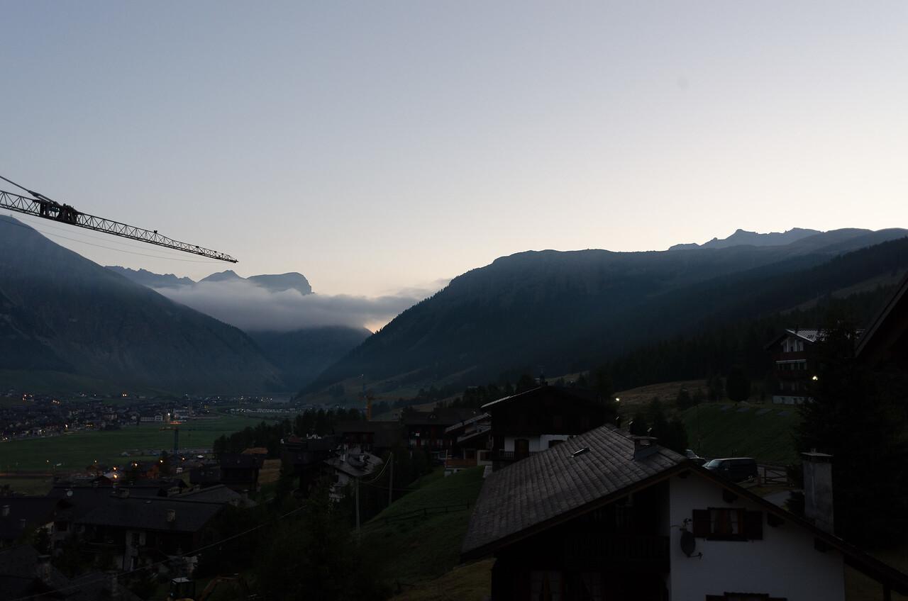 Good morning Livigno!