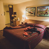 Retro motel room