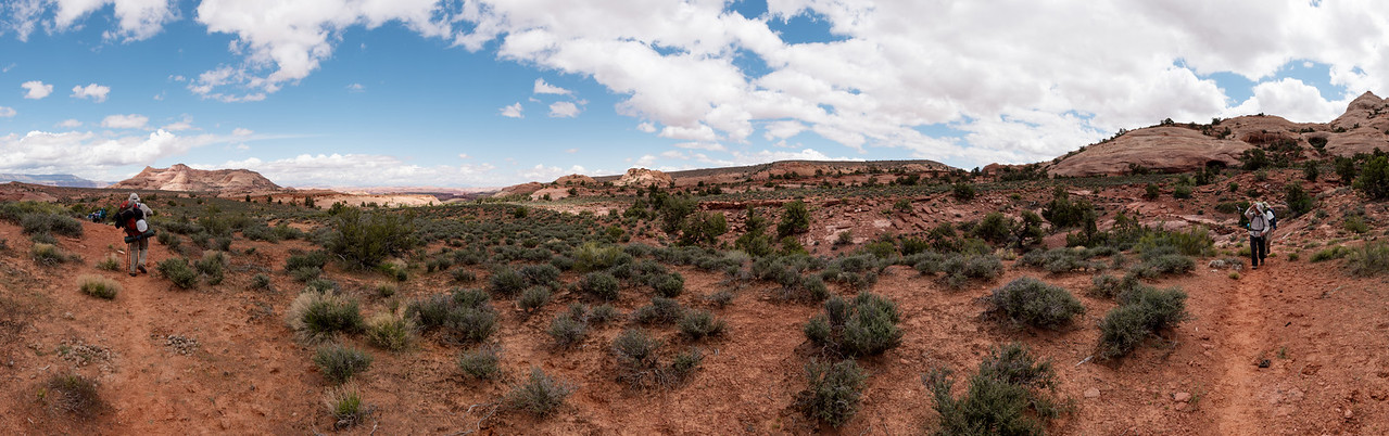 2016-04 Rainbow Plateau, Day 1