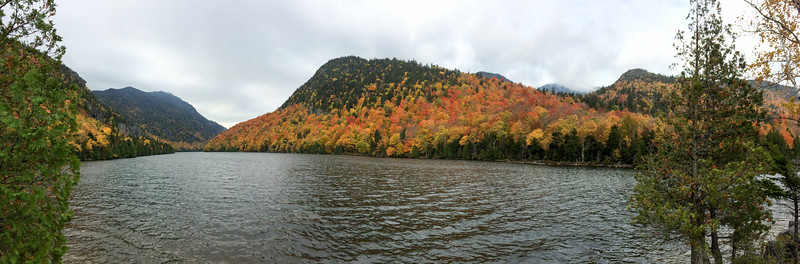 Lower Ausable Lake, from the boathouse area.