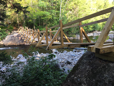 New bridge over the Opalescent river.