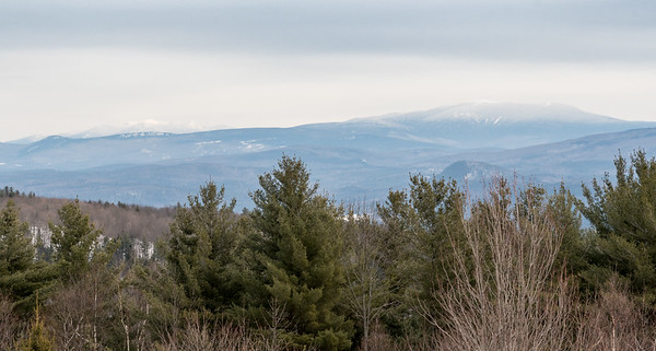 View of Francs and Moosilauke from Bald Top Mountain.