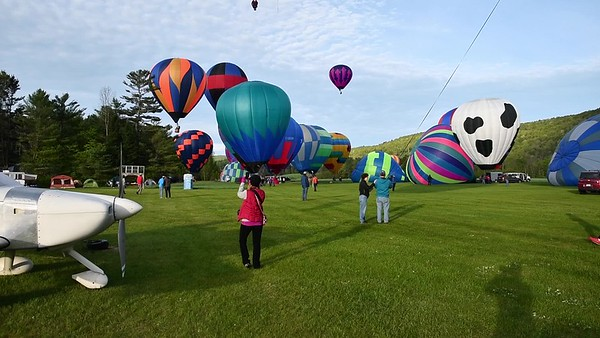Post Mills Balloon Festival - video