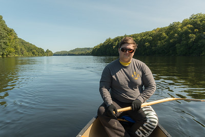 John - on our CT River paddle trip.