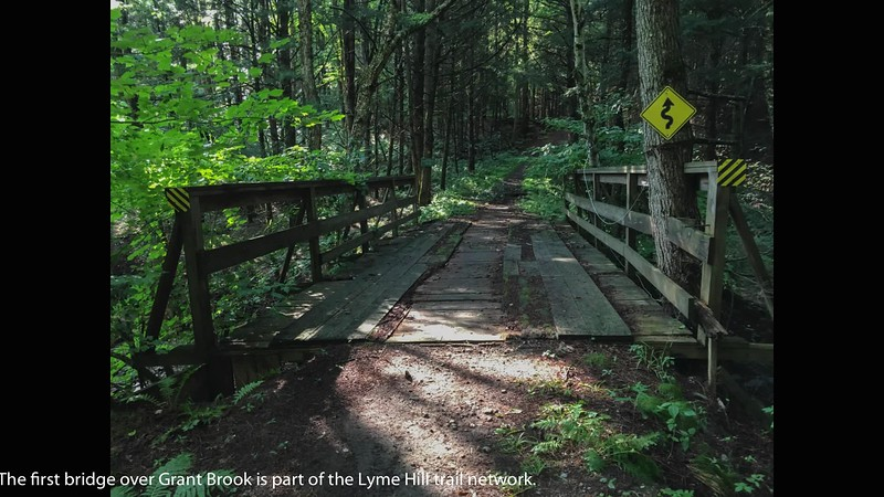 Video slide-show tour of Lyme from bottom to top, with Grant Brook bubbling background.