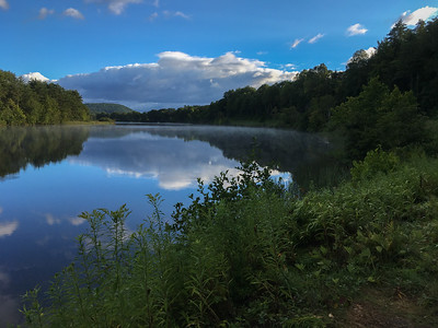 A view of the Connecticut River from the Hanover-Lyme boundary.