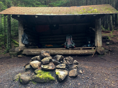 Bradley Pond Shelter.