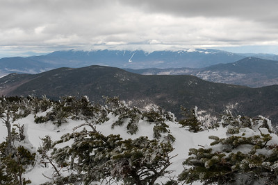 The Presidential Range, from North Twin.