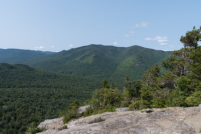 View of Big Slide from the Rooster Comb in the Adirondacks.